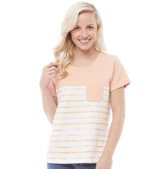 48efd94a7d4 Weird Fish Womens Paros Stripe T-Shirt Shell