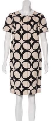 Max Mara 'S Printed Knee-Length Dress w/ Tags