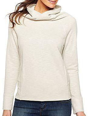 JCPenney XersionTM Cowlneck Sweatshirt