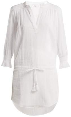 Heidi Klein Seychelles smocked tunic