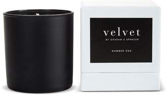 Velvet by Graham & Spencer NUMBER ONE CANDLE BY VELVET BY GRAHAM AND SPENCER