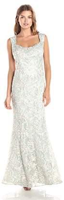 Ignite Women's Open Back Sutash Bodice Dress,8