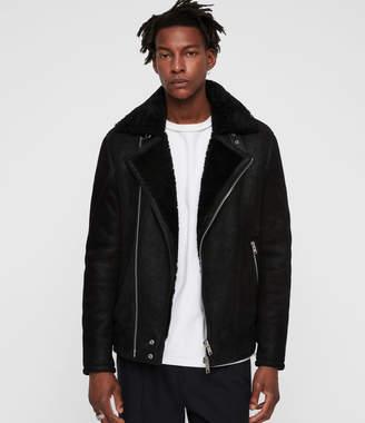AllSaints Myres Shearling Jacket