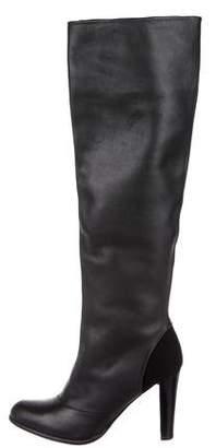 Stuart Weitzman Leather Knee-High Boots