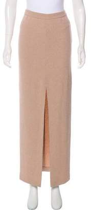 Alice + Olivia Textured Maxi Skirt