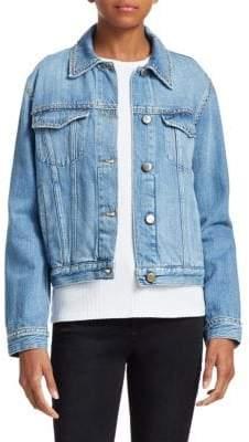 Frame Le Jacket Studded Denim