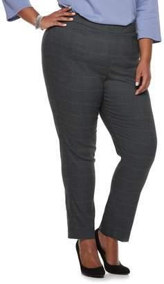 Briggs Plus Size Millennium Mid-Rise Straight-Leg Pants