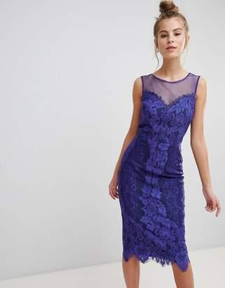 Little Mistress Lace Bodycon Dress