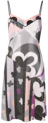 Emilio Pucci sequin embellished dress