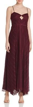 Jill Stuart Silk-Lined Lace Gown