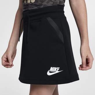 Nike Sportswear Tech Fleece Big Kids' (Girls') Skirt
