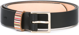 Paul Smith striped detail belt $185 thestylecure.com