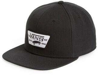 4a8294dbb52d33 Vans 'Full Patch' Snapback Hat