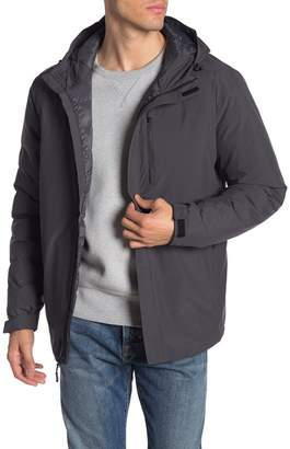 Weatherproof Winter Rain Hooded Jacket