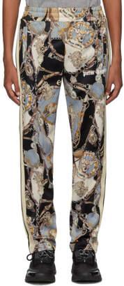 Palm Angels Black Bridle Track Pants