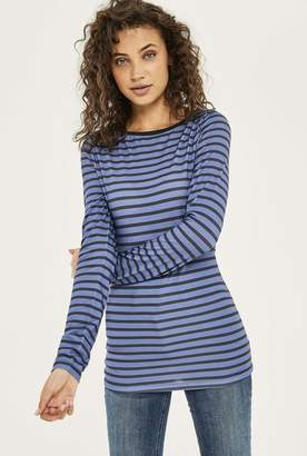Long Tall Sally The Long Sleeve Cotton Stripe Tee