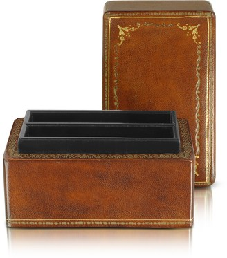 Forzieri Genuine Leather Card Box