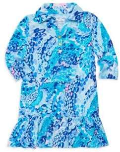 Lilly Pulitzer Girl's Printed Polo Dress