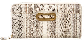Jimmy Choo Jimmy Choo Python Travel Wallet