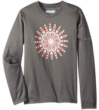 Columbia Kids Trail Tearintm Long Sleeve Shirt Girl's Long Sleeve Pullover