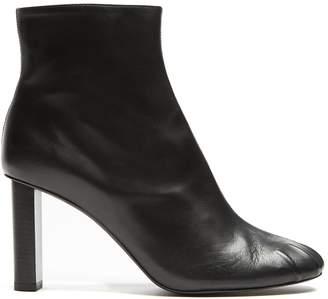 Joseph Block-heel leather ankle boots