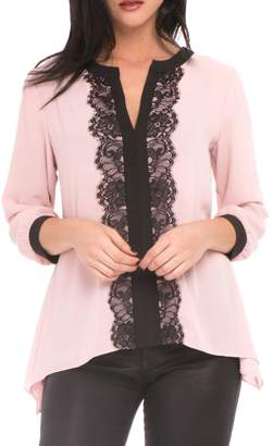 Isabella Collection Atina Cristina Center Lace Top