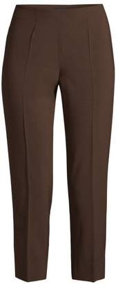 Piazza Sempione Audrey Tropical Wool Cropped Pants