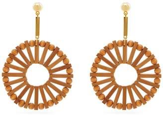 Cult Gaia Eva bamboo earrings