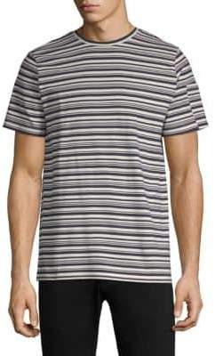 A.P.C. Striped Cotton T-Shirt