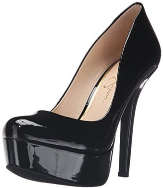 Jessica Simpson Women's Meave Dress Pump, Black Patent $71.58 thestylecure.com