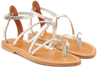 K. Jacques Epicure Leather Gladiator Sandals