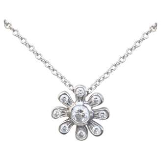 Tiffany & Co. Paloma Picasso White Platinum Necklace