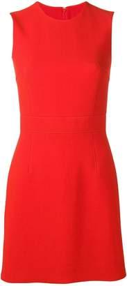 Emilio Pucci Red Sleeveless Wool Mini Dress