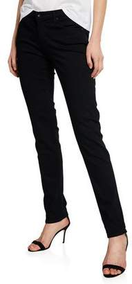 AG Jeans Prima Mid-Rise Skinny Jeans, Super Black