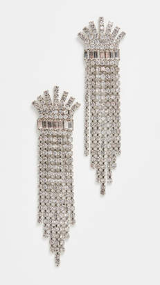 Elizabeth Cole Crystal Earrings