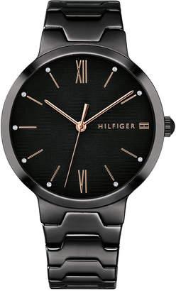 Tommy Hilfiger Women's Black Bracelet Watch 36mm