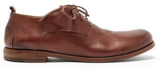 Marsà ̈ll MarsAll - Listarello Grained Leather Derby Shoes - Mens - Tan