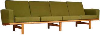One Kings Lane Vintage Hans J. Wegner Danish Oak Sofa