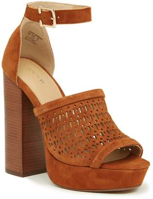 Joe's Jeans Lorne Perforated Platform Sandal