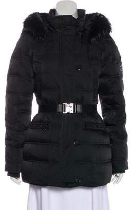 Gucci Fur-Trimmed Puffer Jacket