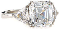 FANTASIA Asscher-Cut Cubic Zirconia Ring