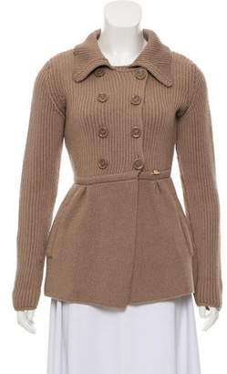 Elisabetta Franchi Wool Double-Breasted Sweater