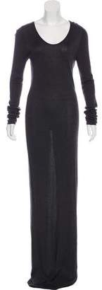 Alexander Wang Long Sleeve Maxi Dress