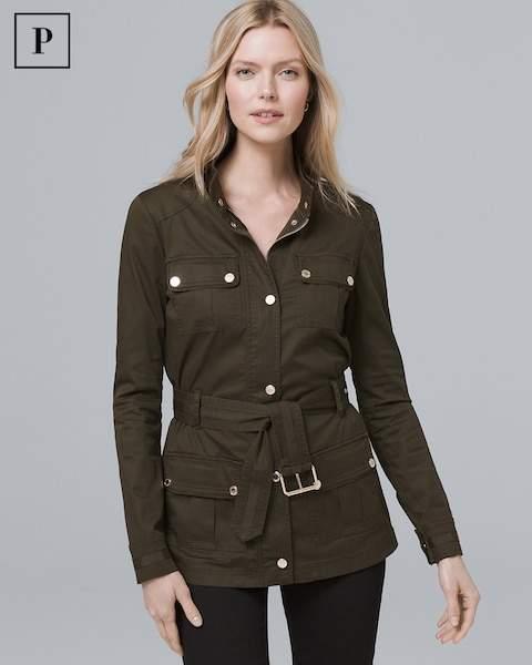 Whbm Petite Soft Utility Jacket