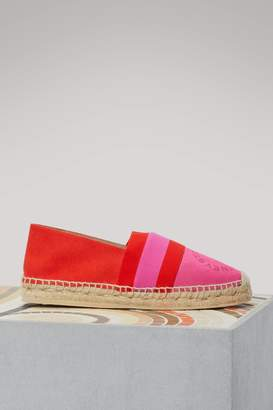 Stella McCartney Bi-colored espadrilles