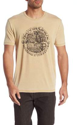 Lucky Brand Guitar Crow Graphic Tee