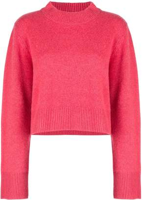 Co cashmere wide sleeve jumper