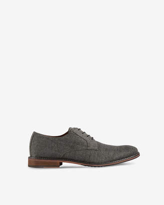 Express Casual Linen Oxford Dress Shoes