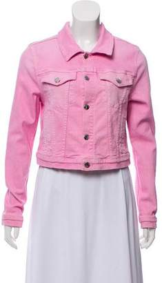 Cotton Citizen Cropped Denim Jacket w/ Tags