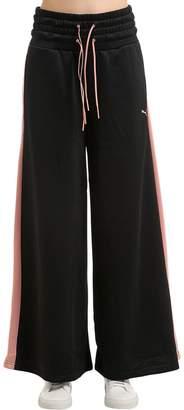 Puma Select En Pointe Cotton Blend Wide Leg Pants